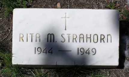 STRAHORN, RITA M. - Yavapai County, Arizona | RITA M. STRAHORN - Arizona Gravestone Photos