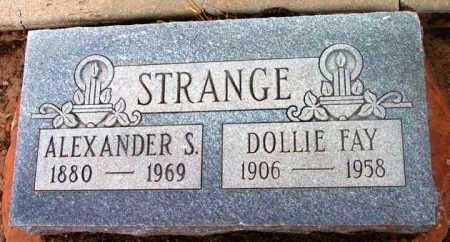 DOTSON STRANGE, DOLLIE - Yavapai County, Arizona | DOLLIE DOTSON STRANGE - Arizona Gravestone Photos