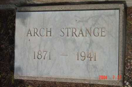 STRANGE, ARCH WASHINGTON - Yavapai County, Arizona | ARCH WASHINGTON STRANGE - Arizona Gravestone Photos
