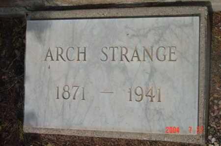STRANGE, ARCH WASHINGTON - Yavapai County, Arizona | ARCH WASHINGTON STRANGE - Arizona Gravestone Photos