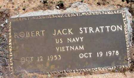 STRATTON, ROBERT JACK - Yavapai County, Arizona | ROBERT JACK STRATTON - Arizona Gravestone Photos