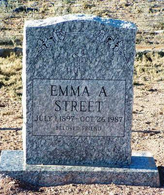 MILLER STREET, EMMA A. - Yavapai County, Arizona | EMMA A. MILLER STREET - Arizona Gravestone Photos