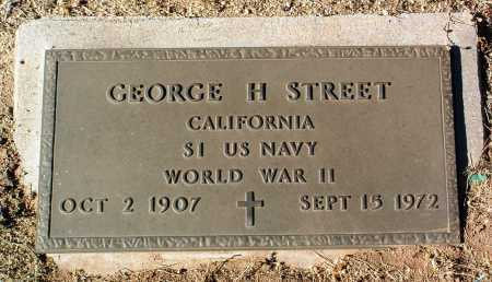 STREET, GEORGE H. - Yavapai County, Arizona | GEORGE H. STREET - Arizona Gravestone Photos