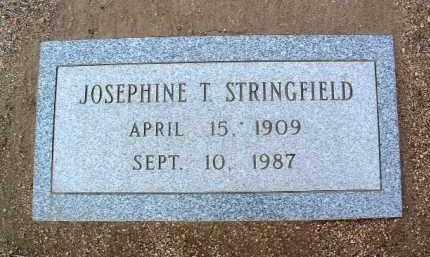 STRINGFIELD, JOSEPHINE JESSIE - Yavapai County, Arizona | JOSEPHINE JESSIE STRINGFIELD - Arizona Gravestone Photos