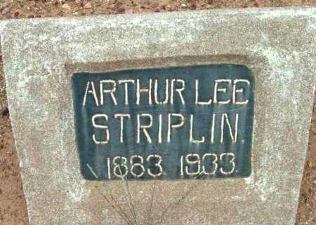 STRIPLIN, ARTHUR LEE - Yavapai County, Arizona   ARTHUR LEE STRIPLIN - Arizona Gravestone Photos