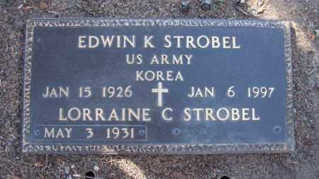 STROBEL, EDWIN KARL - Yavapai County, Arizona | EDWIN KARL STROBEL - Arizona Gravestone Photos