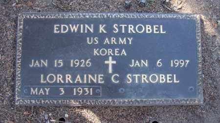 STROBEL, LORRAINE C. - Yavapai County, Arizona | LORRAINE C. STROBEL - Arizona Gravestone Photos