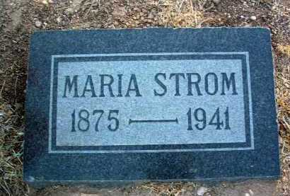 STROM, MARIA V. - Yavapai County, Arizona   MARIA V. STROM - Arizona Gravestone Photos