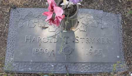 STRYKER, HAROLD THEODORE - Yavapai County, Arizona | HAROLD THEODORE STRYKER - Arizona Gravestone Photos