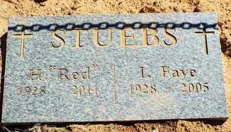 STUEBS, HARLAN DALE (RED) - Yavapai County, Arizona | HARLAN DALE (RED) STUEBS - Arizona Gravestone Photos