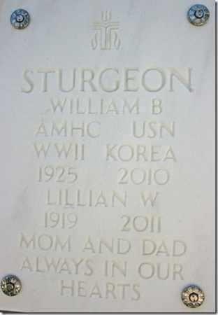STURGEON, WILLIAM B. - Yavapai County, Arizona   WILLIAM B. STURGEON - Arizona Gravestone Photos