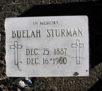 STURMAN, BUELAH - Yavapai County, Arizona   BUELAH STURMAN - Arizona Gravestone Photos