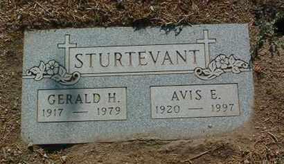 STURTEVANT, GERALD H. - Yavapai County, Arizona   GERALD H. STURTEVANT - Arizona Gravestone Photos