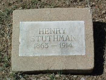 STUTHMAN, HENRY D. - Yavapai County, Arizona | HENRY D. STUTHMAN - Arizona Gravestone Photos