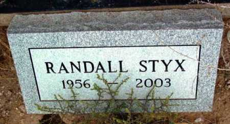 STYX, RANDALL T. - Yavapai County, Arizona | RANDALL T. STYX - Arizona Gravestone Photos