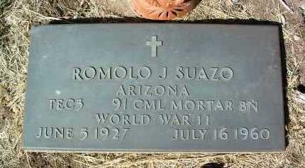 SUAZO, ROMOLO JOSEPH - Yavapai County, Arizona | ROMOLO JOSEPH SUAZO - Arizona Gravestone Photos
