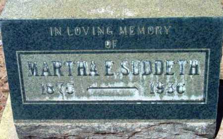 SUDDETH, MARTHA ELIZABETH - Yavapai County, Arizona | MARTHA ELIZABETH SUDDETH - Arizona Gravestone Photos