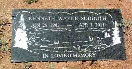 SUDDUTH, KENNETH WAYNE - Yavapai County, Arizona   KENNETH WAYNE SUDDUTH - Arizona Gravestone Photos
