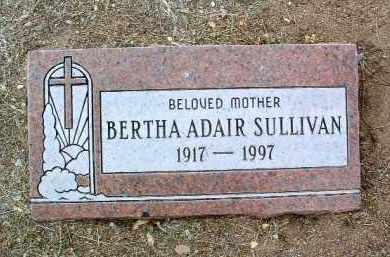 SIMS SULLIVAN, BERTHA A. - Yavapai County, Arizona | BERTHA A. SIMS SULLIVAN - Arizona Gravestone Photos
