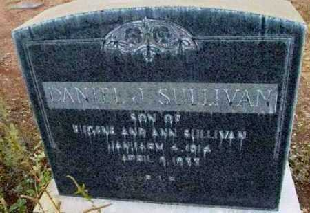 SULLIVAN, DANIEL J. - Yavapai County, Arizona   DANIEL J. SULLIVAN - Arizona Gravestone Photos