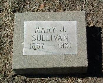 PAYNE SULLIVAN, MARY J. - Yavapai County, Arizona   MARY J. PAYNE SULLIVAN - Arizona Gravestone Photos