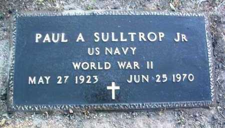 SULLTROP, PAUL A. JR. - Yavapai County, Arizona | PAUL A. JR. SULLTROP - Arizona Gravestone Photos