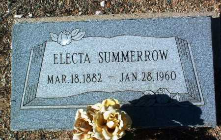 SUMMERROW, ELECTA E. - Yavapai County, Arizona | ELECTA E. SUMMERROW - Arizona Gravestone Photos