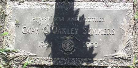 SUMMERS, CHESTER OAKLEY - Yavapai County, Arizona | CHESTER OAKLEY SUMMERS - Arizona Gravestone Photos