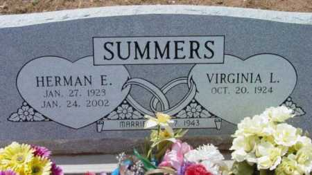 SUMMERS, VIRGINIA L. - Yavapai County, Arizona | VIRGINIA L. SUMMERS - Arizona Gravestone Photos