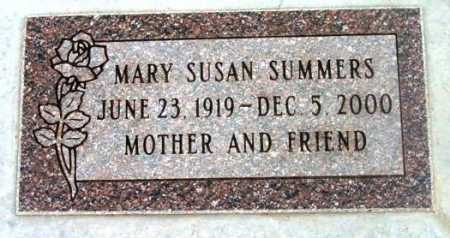 SUMMERS, MARY SUSAN - Yavapai County, Arizona | MARY SUSAN SUMMERS - Arizona Gravestone Photos