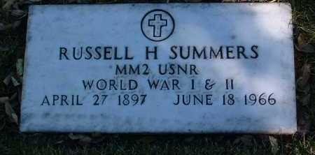 SUMMERS, RUSSELL H. - Yavapai County, Arizona | RUSSELL H. SUMMERS - Arizona Gravestone Photos