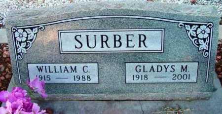 SURBER, WILLIAM C. - Yavapai County, Arizona | WILLIAM C. SURBER - Arizona Gravestone Photos