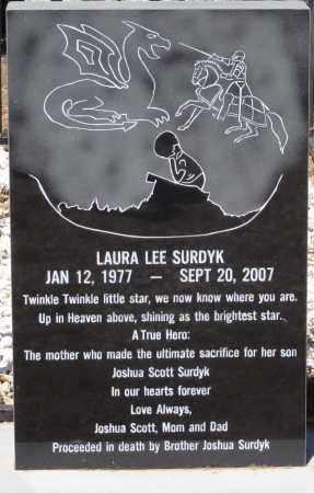 SURDYK, LAURA LEE - Yavapai County, Arizona | LAURA LEE SURDYK - Arizona Gravestone Photos