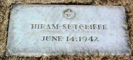 SUTCLIFFE, HIRAM - Yavapai County, Arizona | HIRAM SUTCLIFFE - Arizona Gravestone Photos