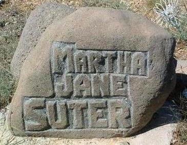 SUTER, MARTHA JANE - Yavapai County, Arizona | MARTHA JANE SUTER - Arizona Gravestone Photos