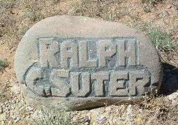 SUTER, RALPH CLAUD - Yavapai County, Arizona | RALPH CLAUD SUTER - Arizona Gravestone Photos