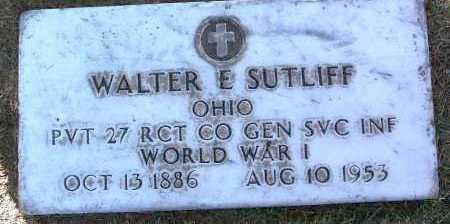 SUTLIFF, WALTER E. - Yavapai County, Arizona   WALTER E. SUTLIFF - Arizona Gravestone Photos