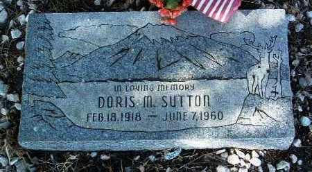 SUTTON, DORIS M. - Yavapai County, Arizona | DORIS M. SUTTON - Arizona Gravestone Photos
