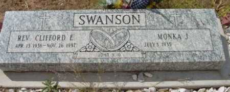 SWANSON, CLIFFORD EDWARD - Yavapai County, Arizona | CLIFFORD EDWARD SWANSON - Arizona Gravestone Photos