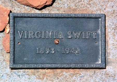 ALDERSON SWIFT, VIRGINIA - Yavapai County, Arizona   VIRGINIA ALDERSON SWIFT - Arizona Gravestone Photos