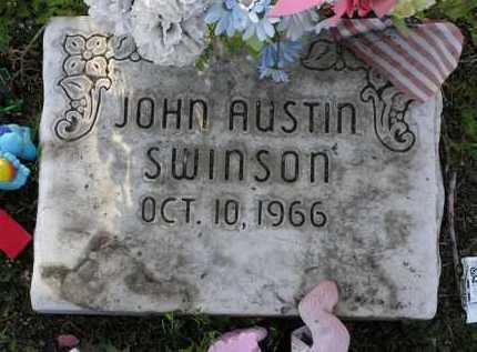SWINSON, JOHN AUSTIN - Yavapai County, Arizona | JOHN AUSTIN SWINSON - Arizona Gravestone Photos