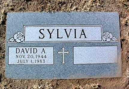 SYLVIA, DAVID A. - Yavapai County, Arizona   DAVID A. SYLVIA - Arizona Gravestone Photos