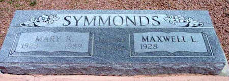 SYMMONDS, MAXWELL L. - Yavapai County, Arizona | MAXWELL L. SYMMONDS - Arizona Gravestone Photos
