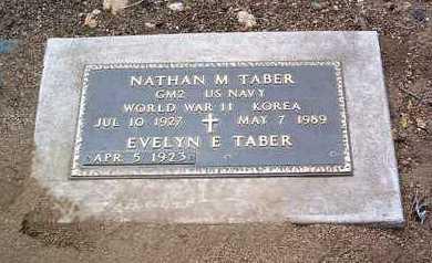 TABER, NATHAN MARSHALL - Yavapai County, Arizona | NATHAN MARSHALL TABER - Arizona Gravestone Photos