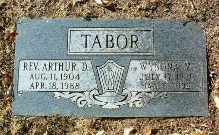 SWARTHOUT TABOR, WYNONA - Yavapai County, Arizona | WYNONA SWARTHOUT TABOR - Arizona Gravestone Photos