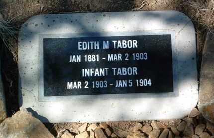 ROGERS TABOR, EDITH M. - Yavapai County, Arizona | EDITH M. ROGERS TABOR - Arizona Gravestone Photos