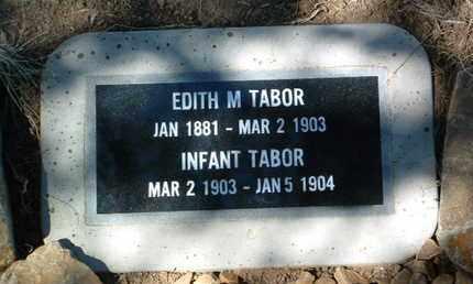 TABOR, INFANT - Yavapai County, Arizona   INFANT TABOR - Arizona Gravestone Photos