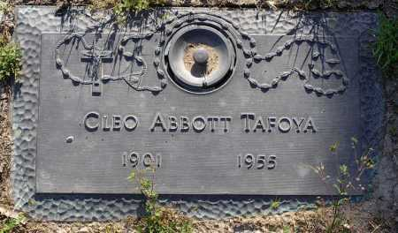 TAFOYA, CLEO - Yavapai County, Arizona | CLEO TAFOYA - Arizona Gravestone Photos