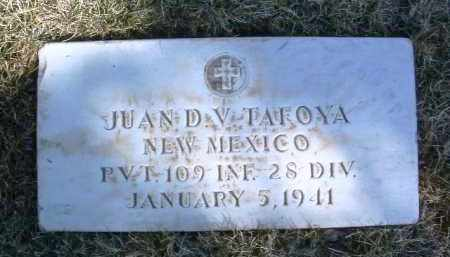 TAFOYA, JUAN D. - Yavapai County, Arizona | JUAN D. TAFOYA - Arizona Gravestone Photos