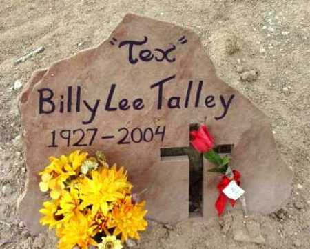 TALLEY, BILLY LEE   (TEX) - Yavapai County, Arizona | BILLY LEE   (TEX) TALLEY - Arizona Gravestone Photos